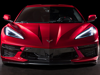 2020 Chevy Corvette Front