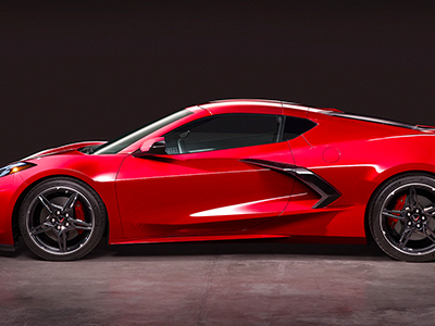 2020 Chevy Corvette Side