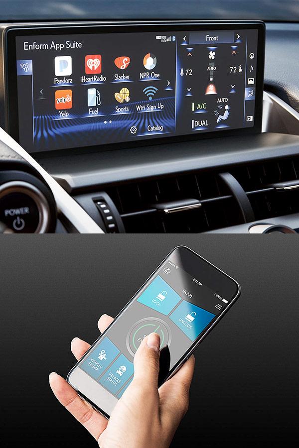 2018 Lexus NX Technology & Entertainment