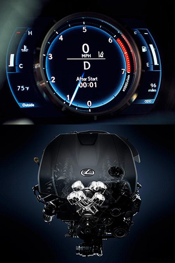 2018 Lexus IS 300 2018 Lexus IS Engine Specs
