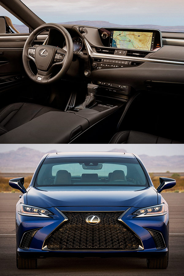 2019 Lexus ES Features