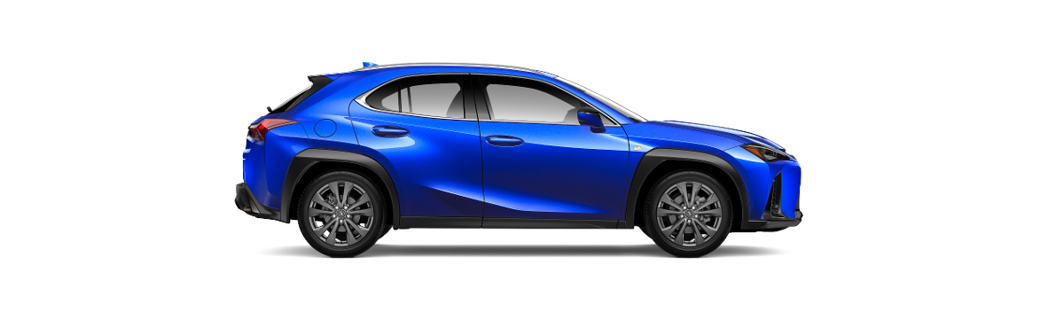 2019 Lexus UX side view
