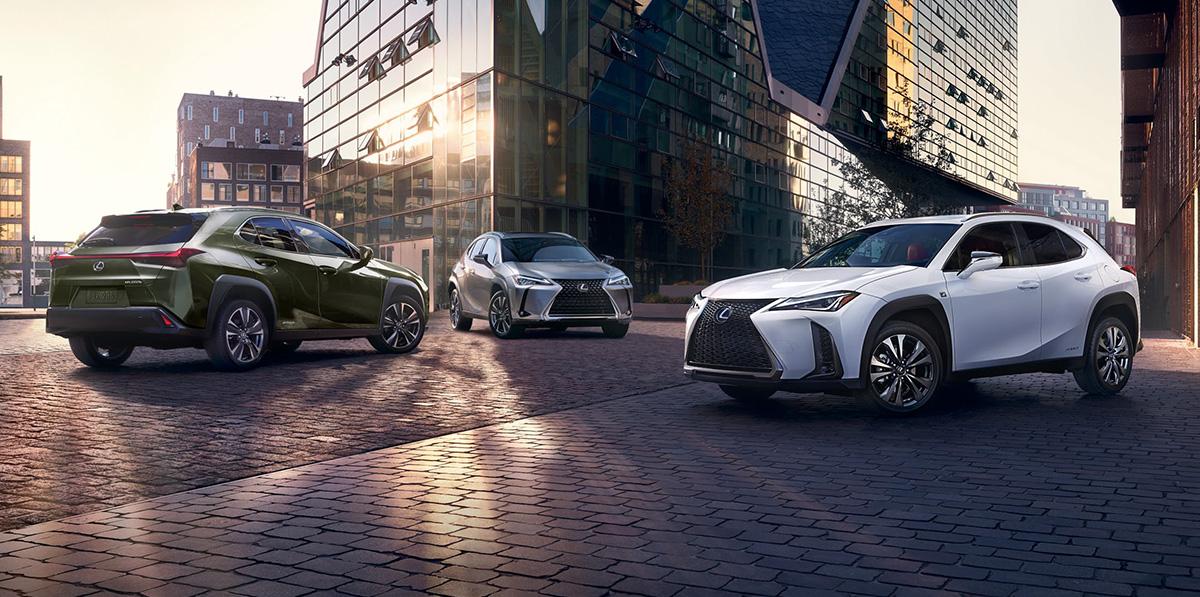2019 Lexus UX lineup