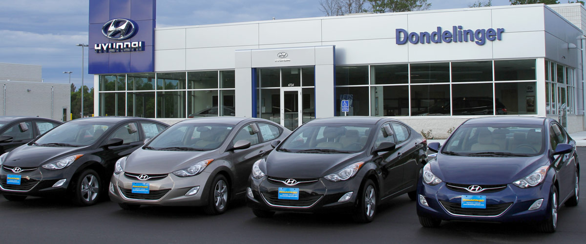 Dondelinger Hyundai: Home of the Lifetime Powertrain Warranty header