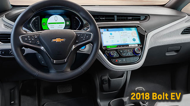 2018 Chevrolet Bolt EV interior