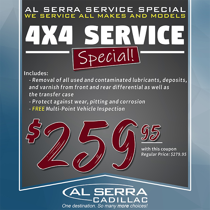 Al Serra Used >> Al Serra Cadillac Is A Grand Blanc Cadillac Dealer And A New