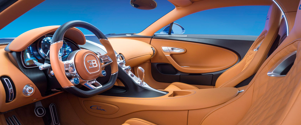 Anatomy of a Bugatti: The Interior.
