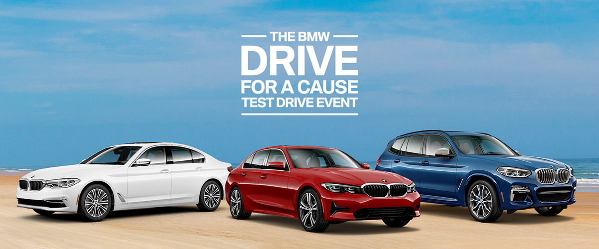 Braman BMW Drive for A Cause Test Drive Event Header
