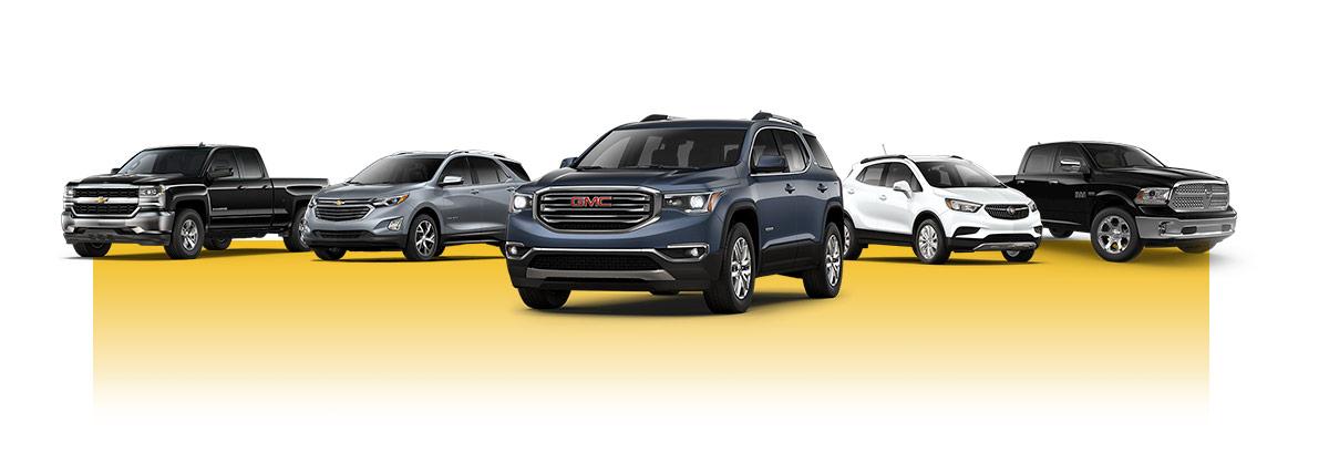 2018 Chevy, Buick, GMC, CDJR lineup