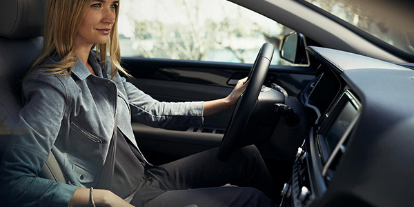 2018 Hyundai Sonata woman driving