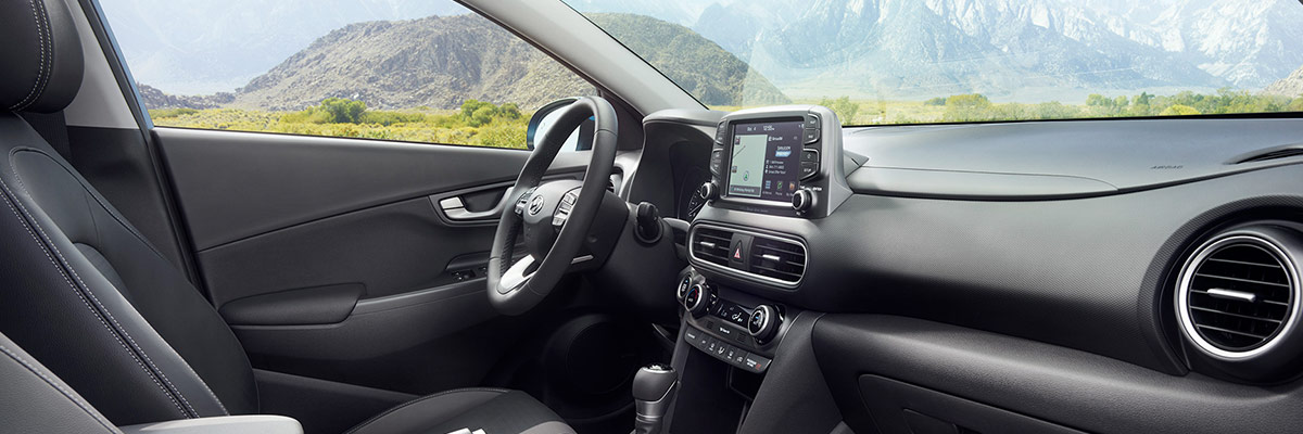 2018 Hyundai Kona Interior Features