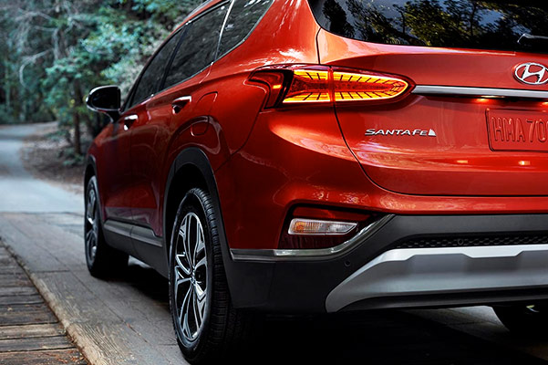 2019 Hyundai Santa Fe Interior & Technology