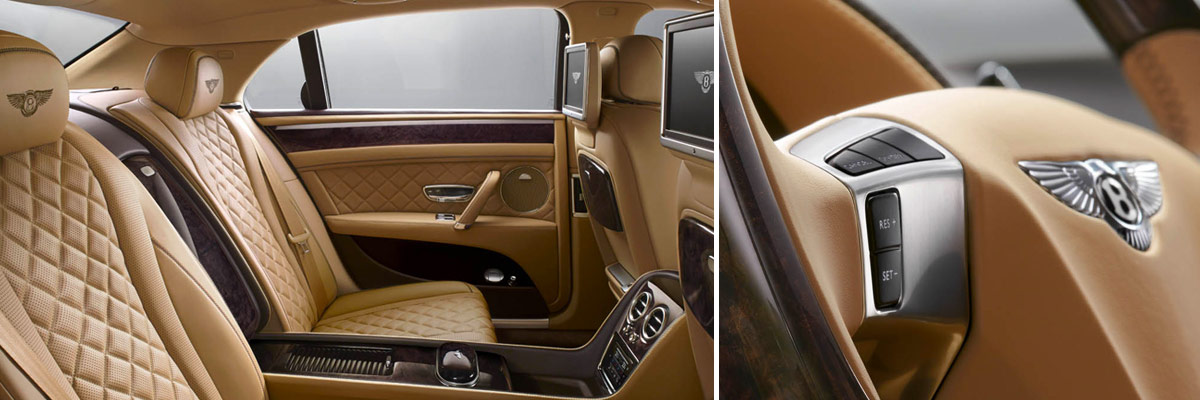 2018 Bentley Flying Spur V8 S Interior Features & Tech
