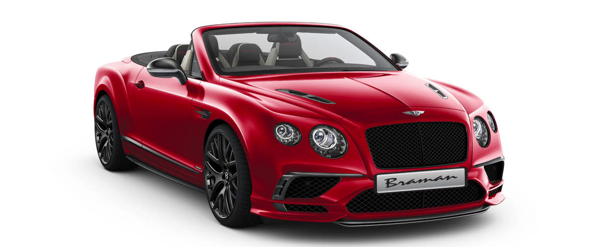 2018 Continental Supersports Convertible