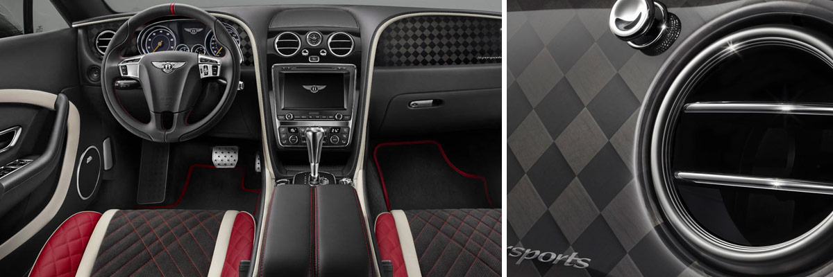 2018 Bentley Continental Supersports Convertible Interior & Design