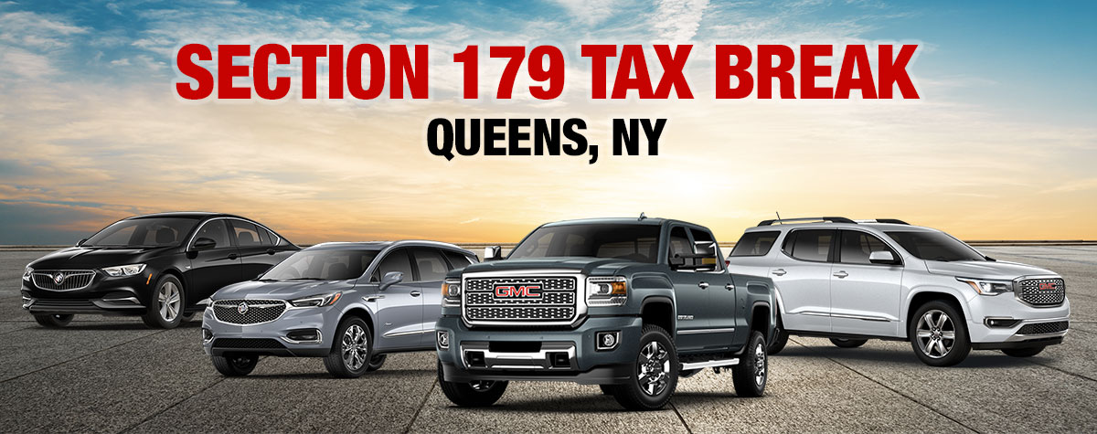 GMC Section 179 Deduction Vehicles | New York City Buick ...
