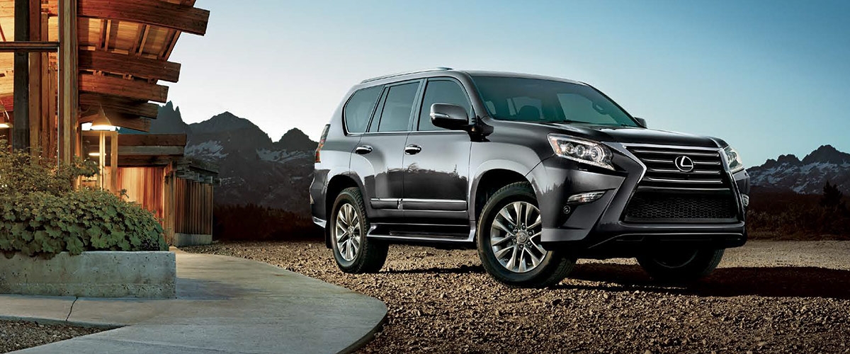 The 2019 Lexus GX  Header