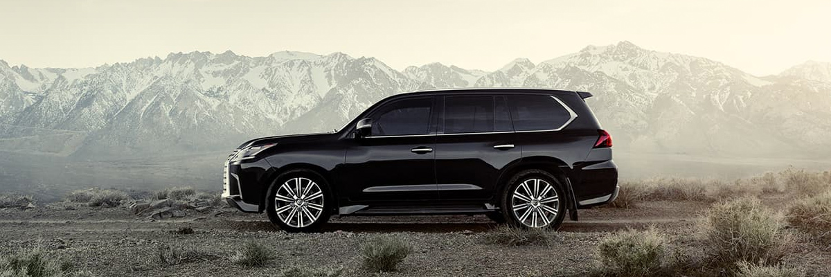 The 2019 Lexus LX footer