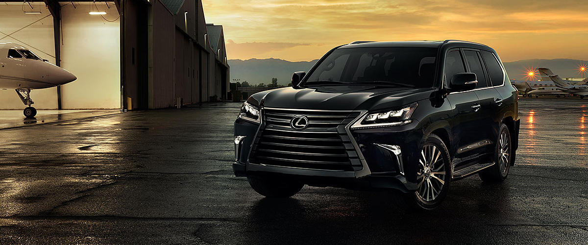 The 2019 Lexus LX header