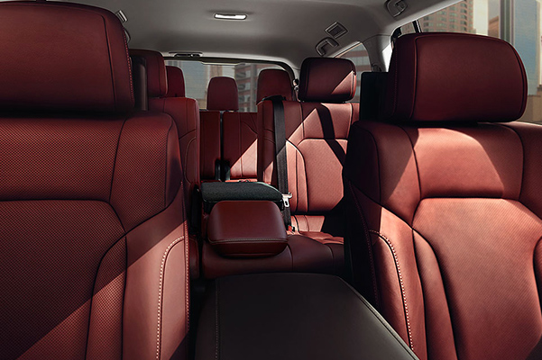 2019 Lexus LX Interior seating