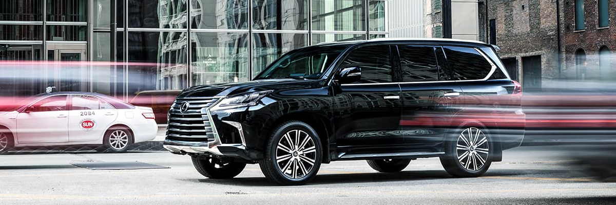 2019 Lexus LX performance