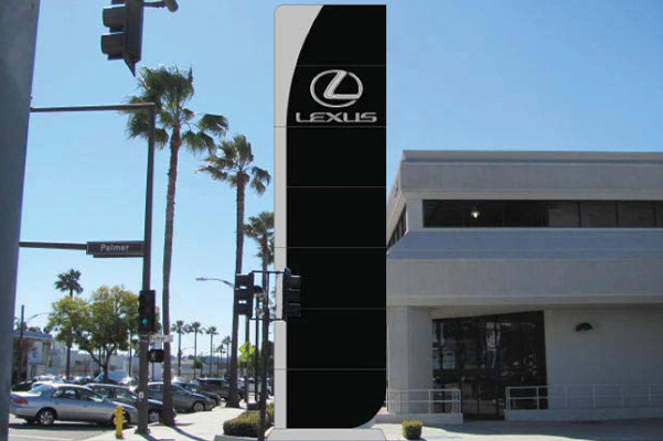 Exterior shot of the Lexus of Glendale dealership