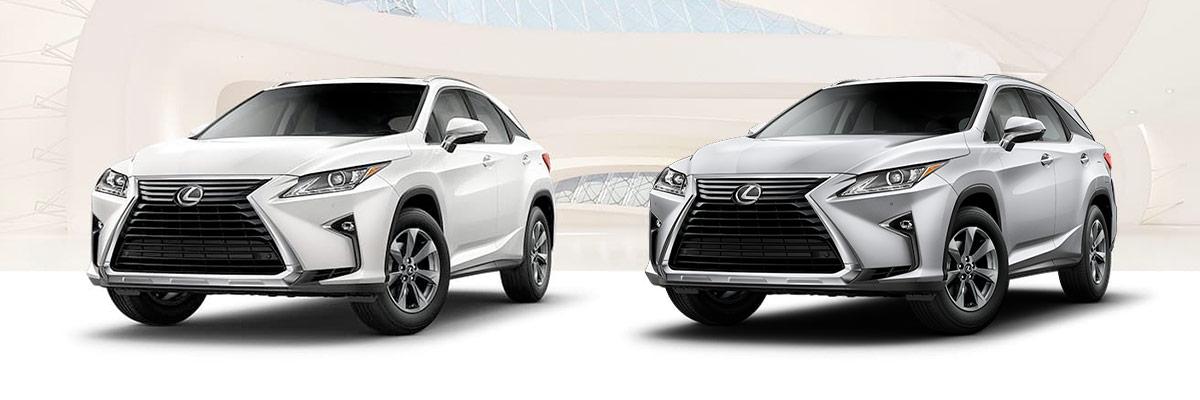 The 2019 Lexus RX vs RX L