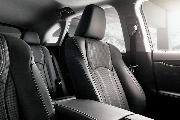 The 2019 Lexus RX interior