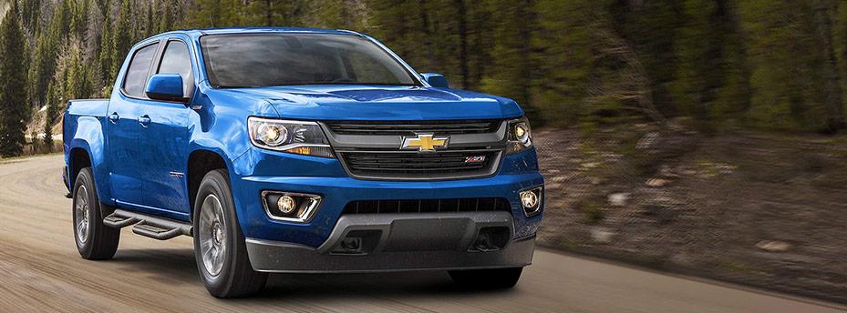 2018 Blue Chevrolet Colorado