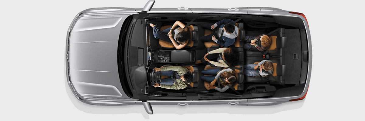 2018 VW Atlas top down cutout