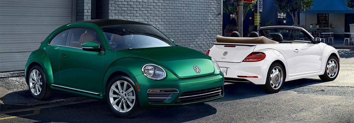 2018 VW Beetle hardtop and Convertible