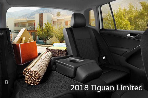 2018 Volkswagen Tiguan Limited Interior