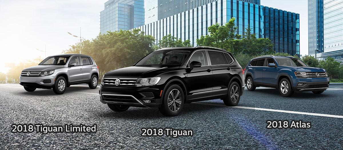 2018 Volkswagen SUVs