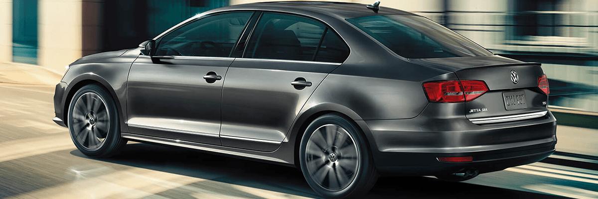 2018 VW Jetta rear driving