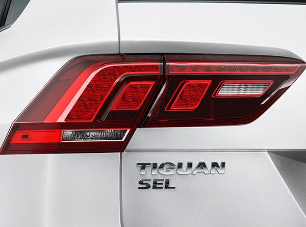 2018 Volkswagen Tiguan taillights