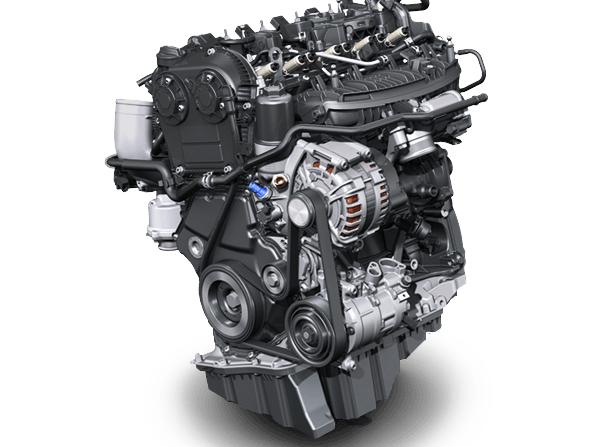 2018 Volkswagen Tiguan engine