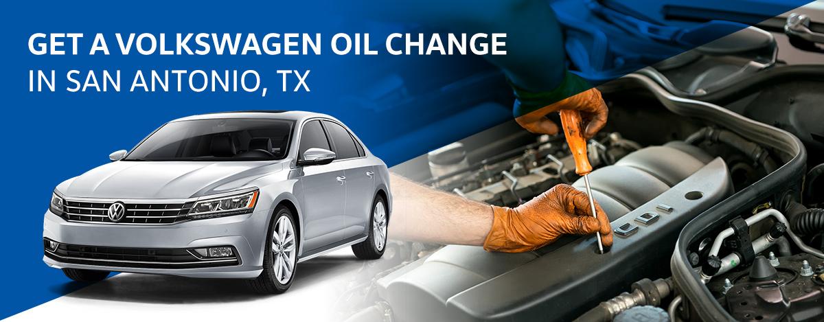 Get a Volkswagen Oil Change in San Antonio, TX