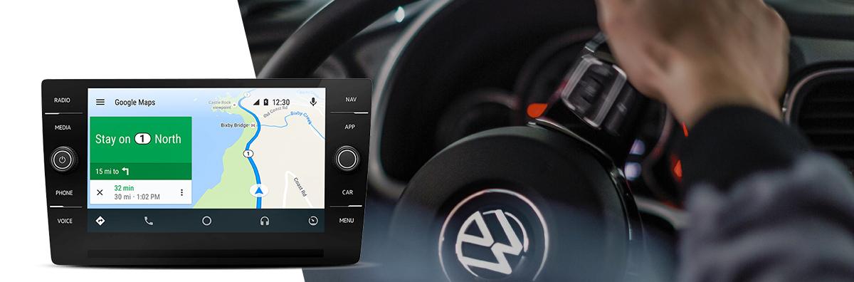 VW CarNet Maps