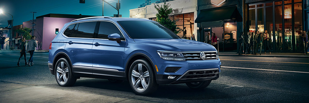 The 2019 Tiguan footer