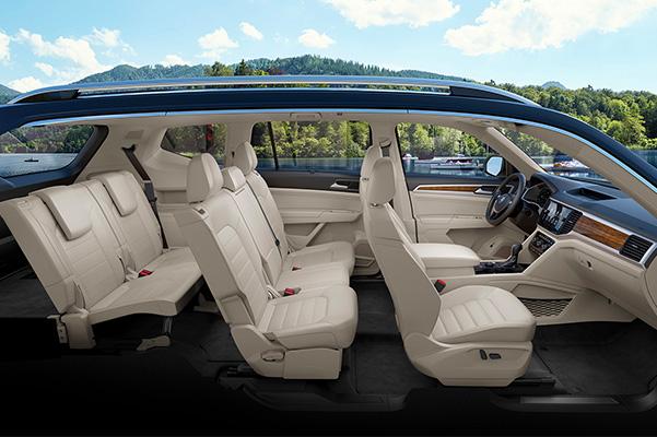 2020 Volkswagen Atlas Interior