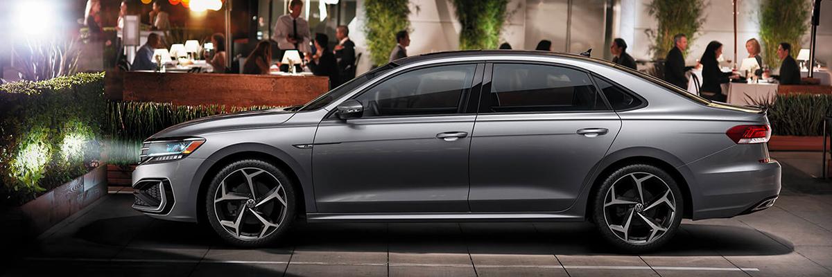 2020 Volkswagen Passat  footer