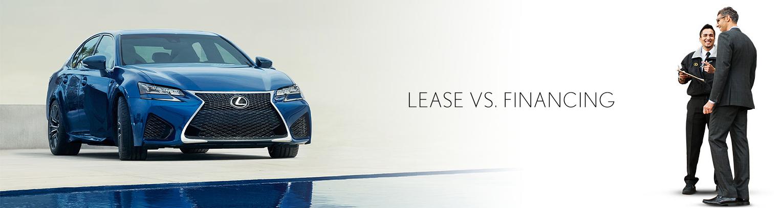 Leasing Vs. Financing Your Lexus