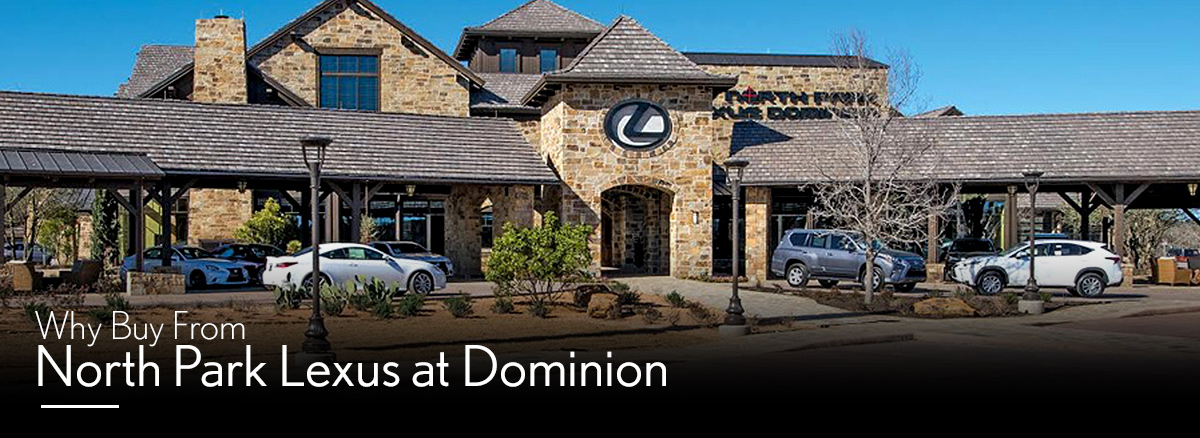 Why Buy From North Park Lexus at Dominion
