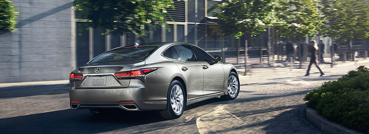 The 2019 LS rear driving