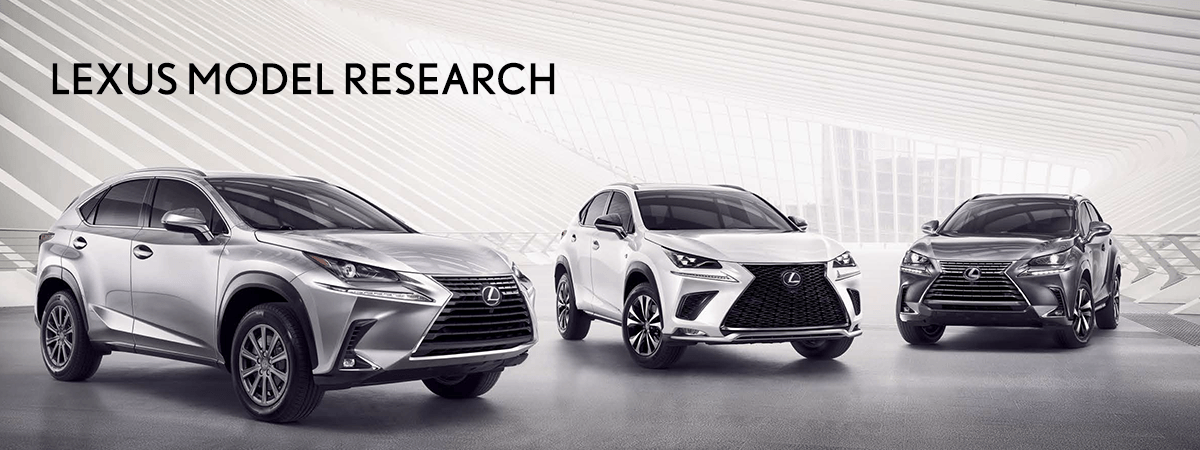 Lexus Model Research