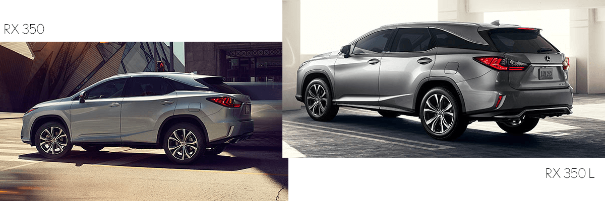 2019 Lexus RX350 and RX350L design