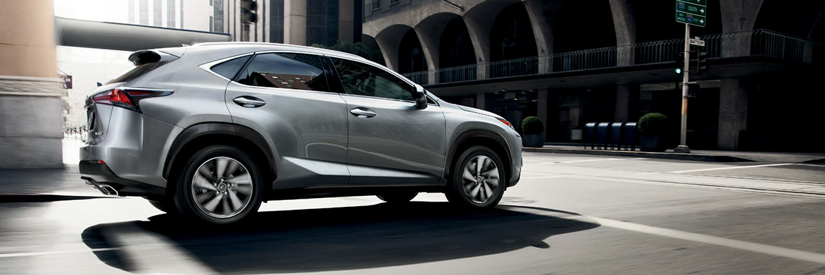 Lexus NX on street