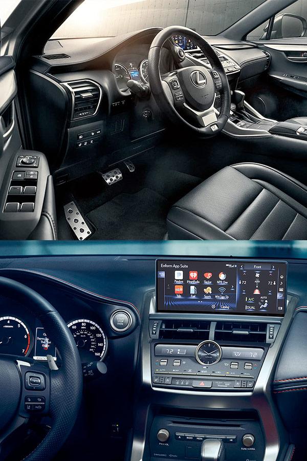 2019 Lexus NX Interior & Tech
