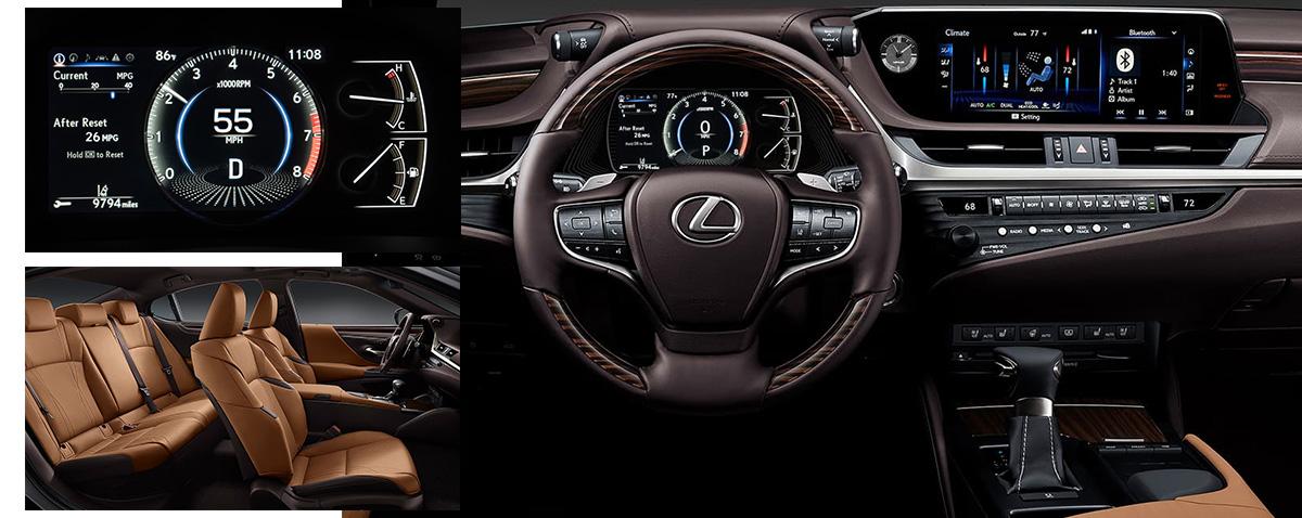 2019 Lexus ES features