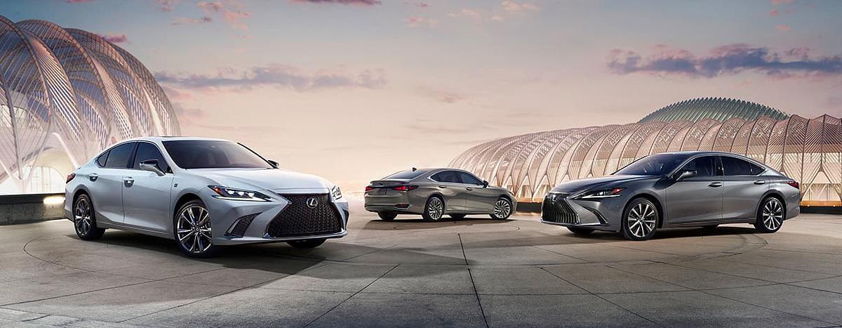 2020 Lexus ES footer